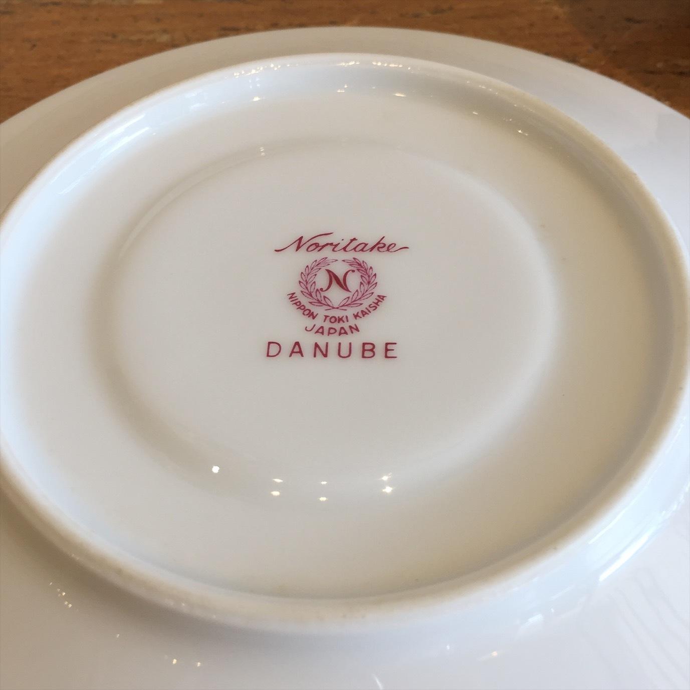 Noritake DANUBE スープカップ&ソーサー
