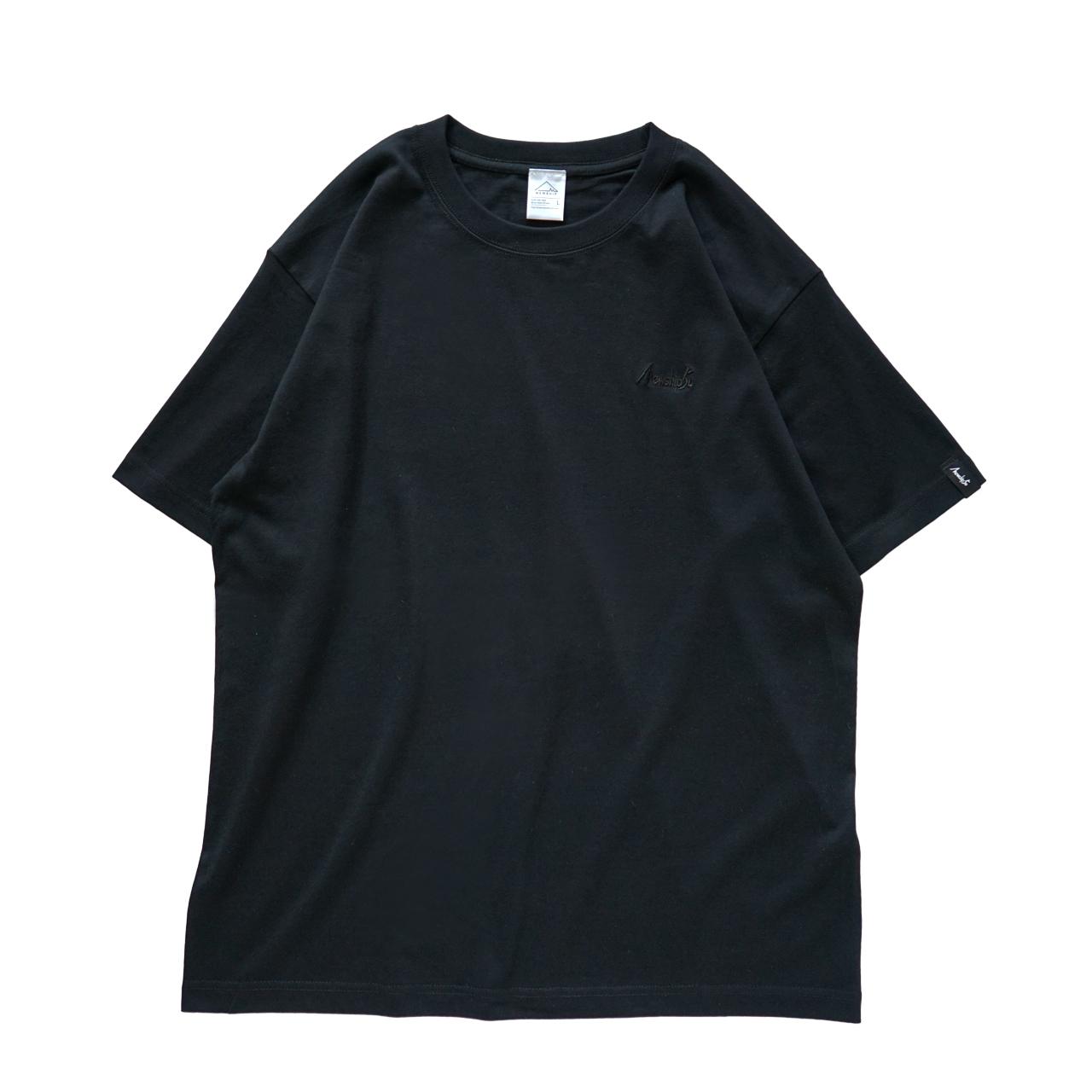 BASIC LOGO 019 S/S CT <Black×Black> - 画像1