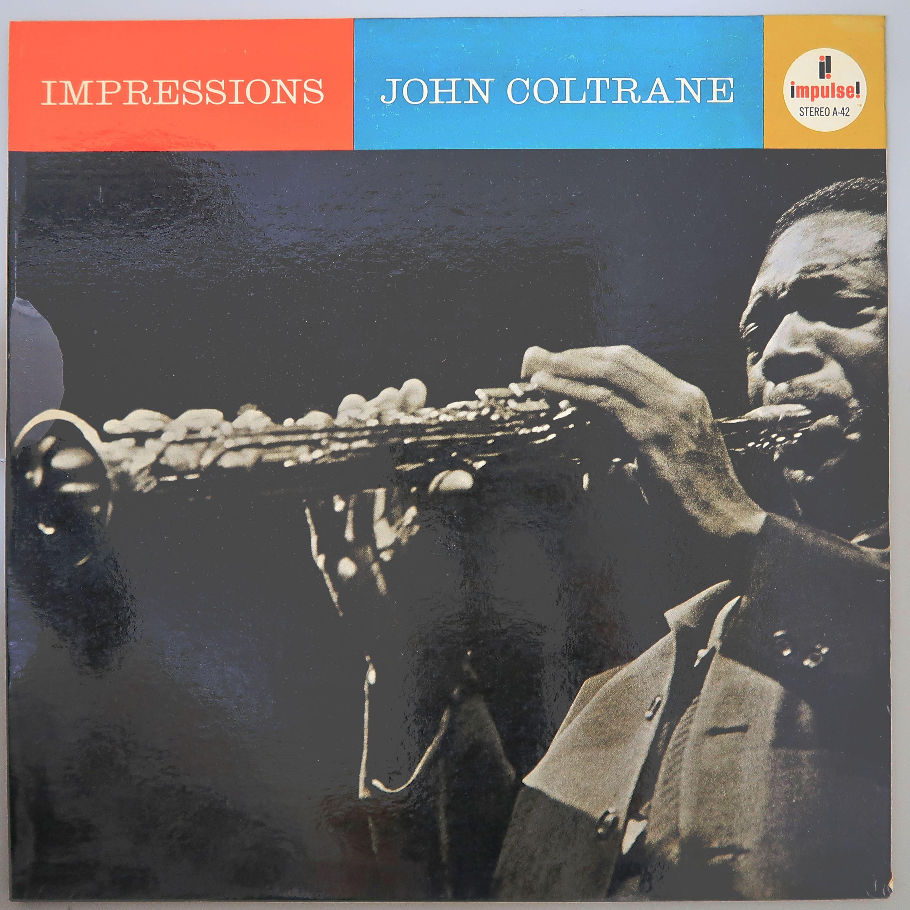 JOHN COLTRANE / IMPRESSIONS (US赤黒)