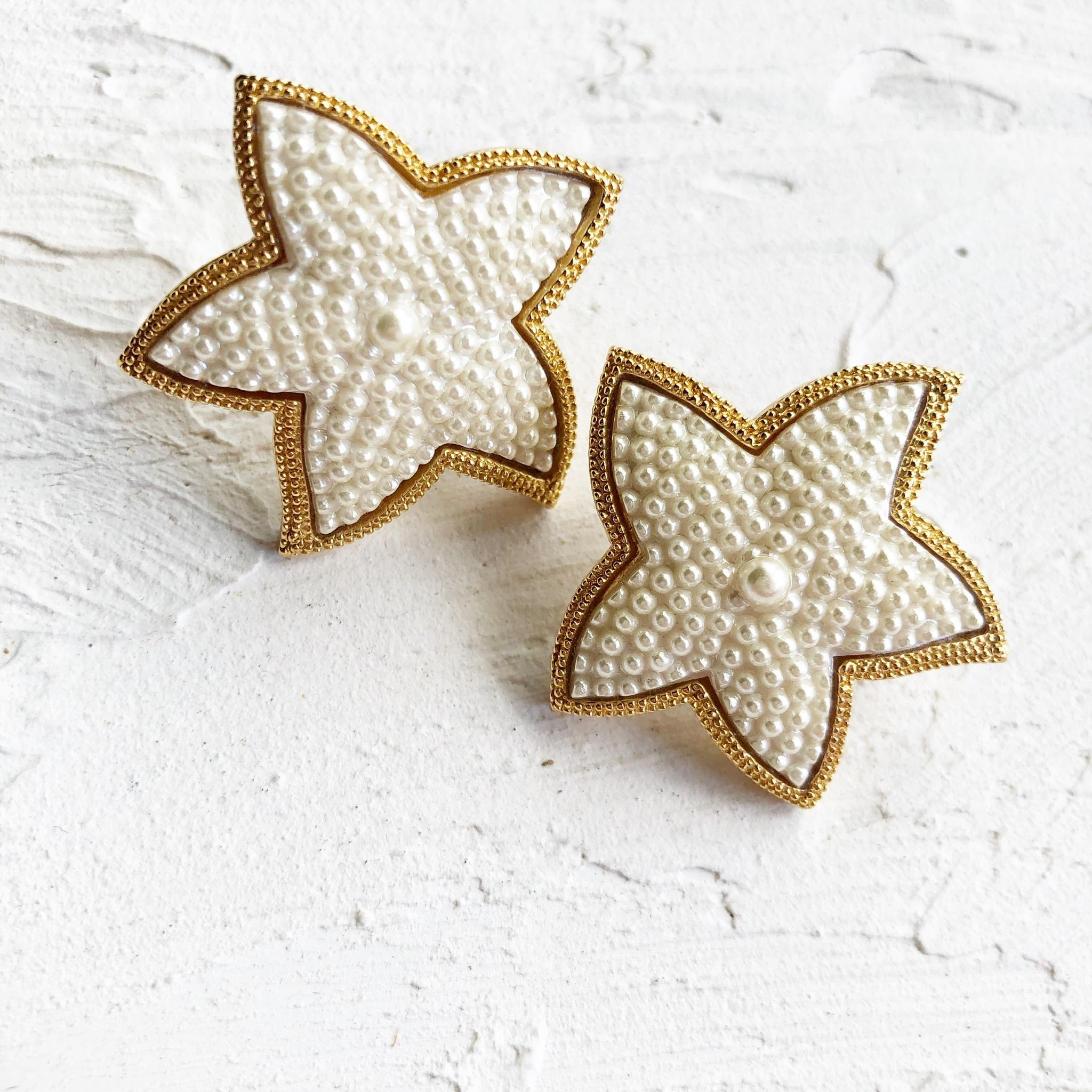 starfish vintage pierce (big)
