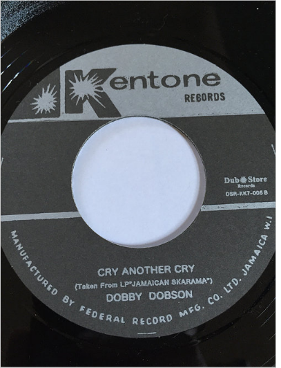 Dobby Dobson(ドビードブソン) - Cry Another Cry【7'】