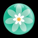 ゴーバッジ(ドーム)(CD0239 - FLOWER 04) - 画像1
