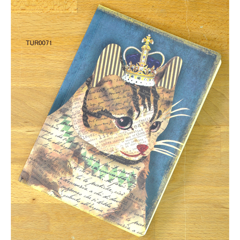 猫ノート(ほぼA5サイズ)キャット