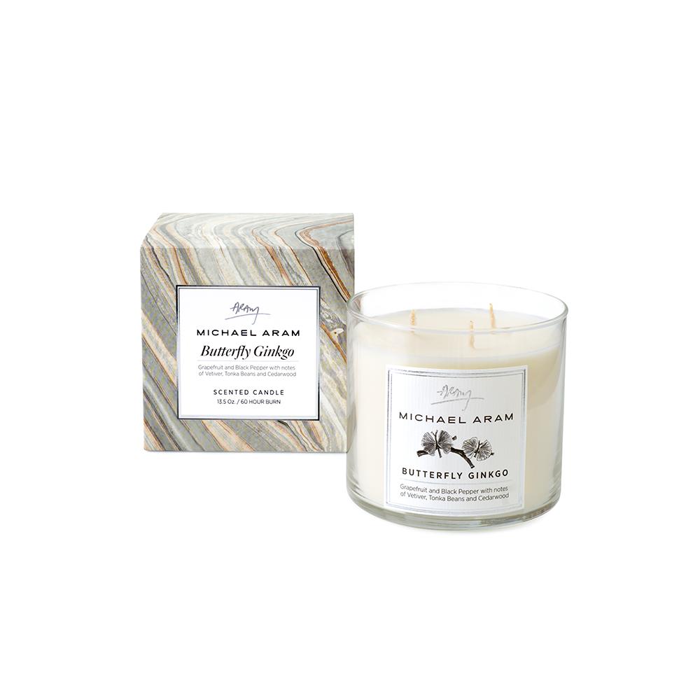 Michael Aram Butterfly Ginkgo Candle(マイケルアラム バタフライギンクゴー キャンドル)160565