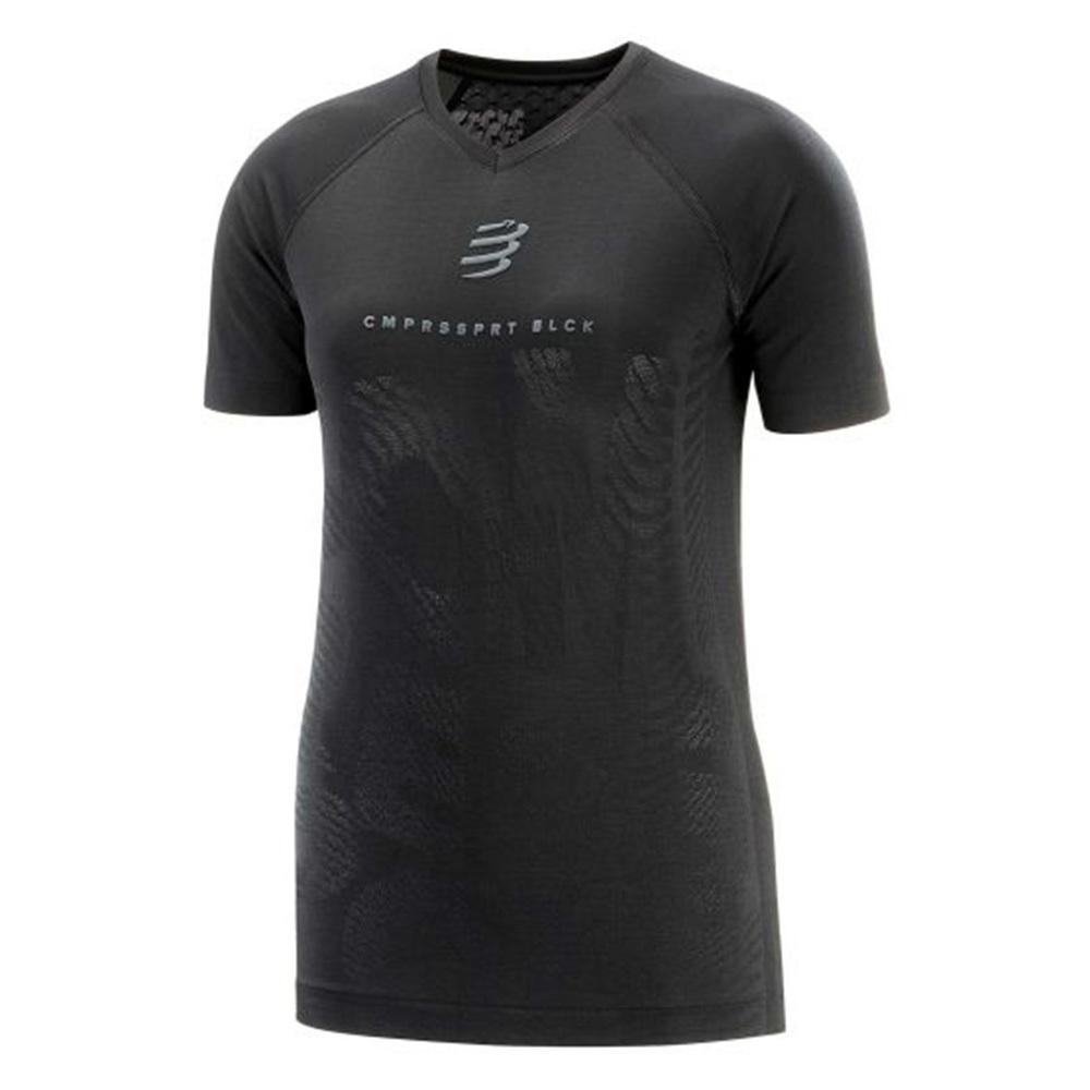 【NEW】COMPRESSPORT コンプレスポーツ Training Tshirt SS W - Black Edition 2020 トレーニング Tシャツ ショートスリーブ ウーマン ブラックエディション 2020