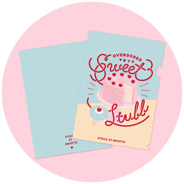 Sweet Stuffクリアファイル