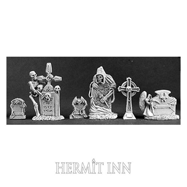 哀しき墓標(6個) - 画像1