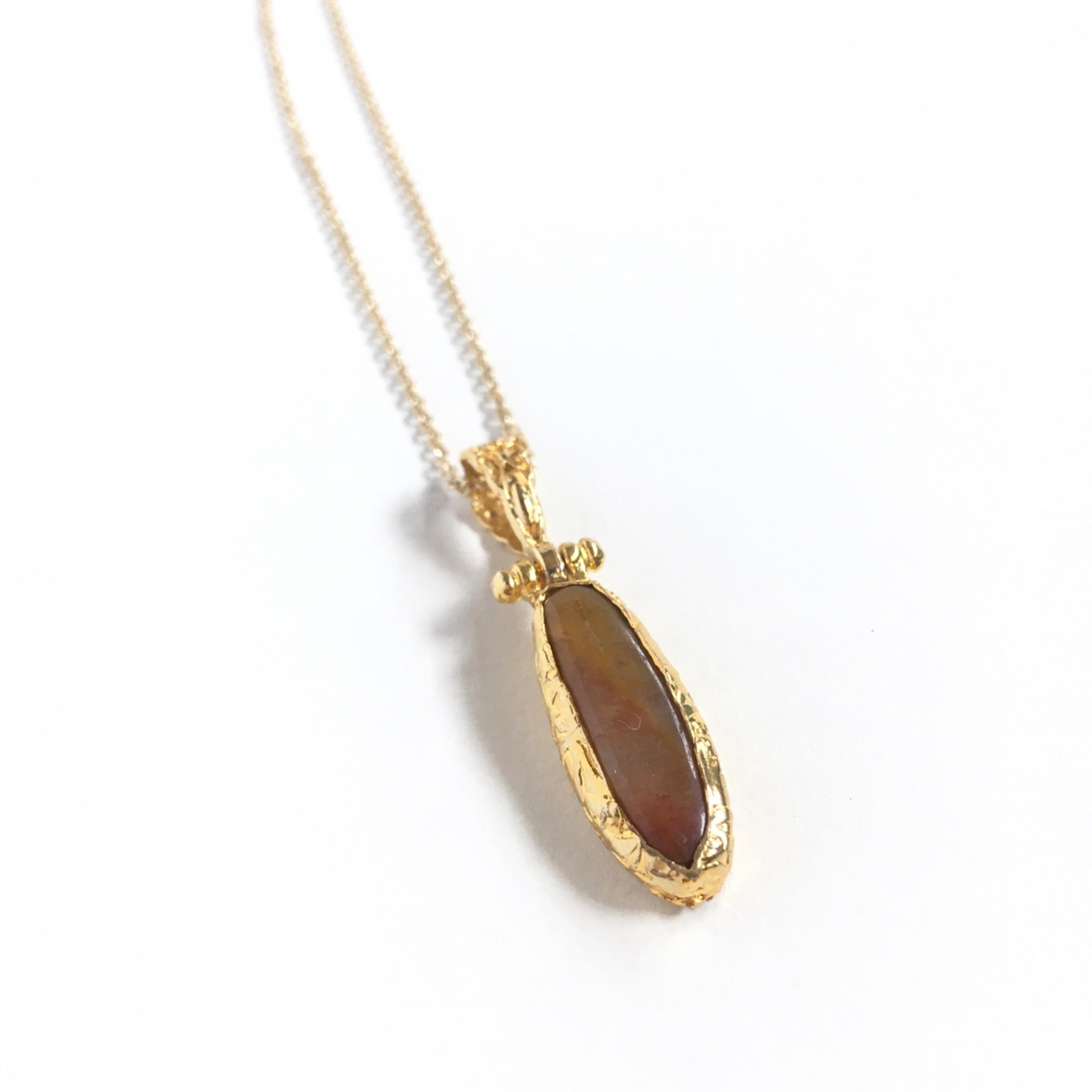 stone necklace D