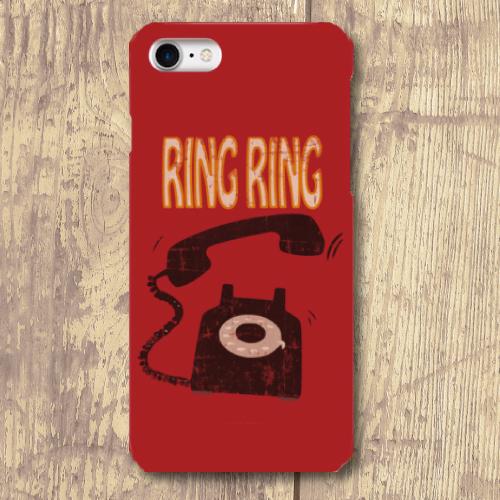 RINGRING / iPhoneスマホケース(ハードケース)