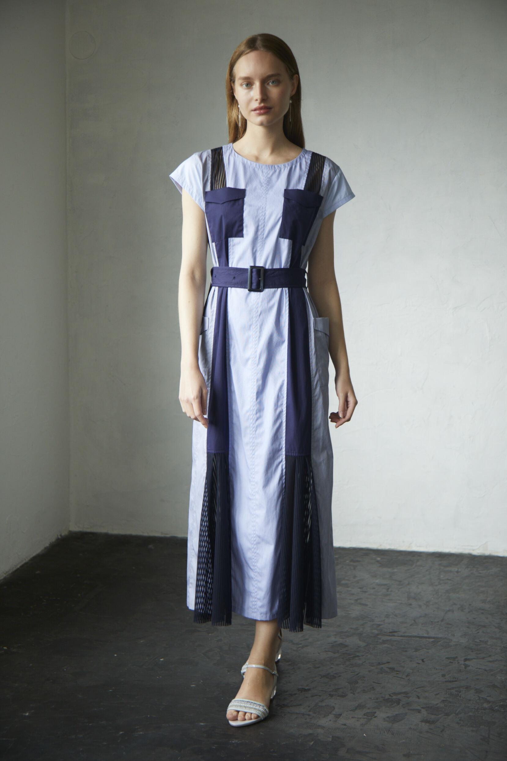 【2021SS先行受注アイテム】TYPEWRITER COMPLEX SAFARI DRESS