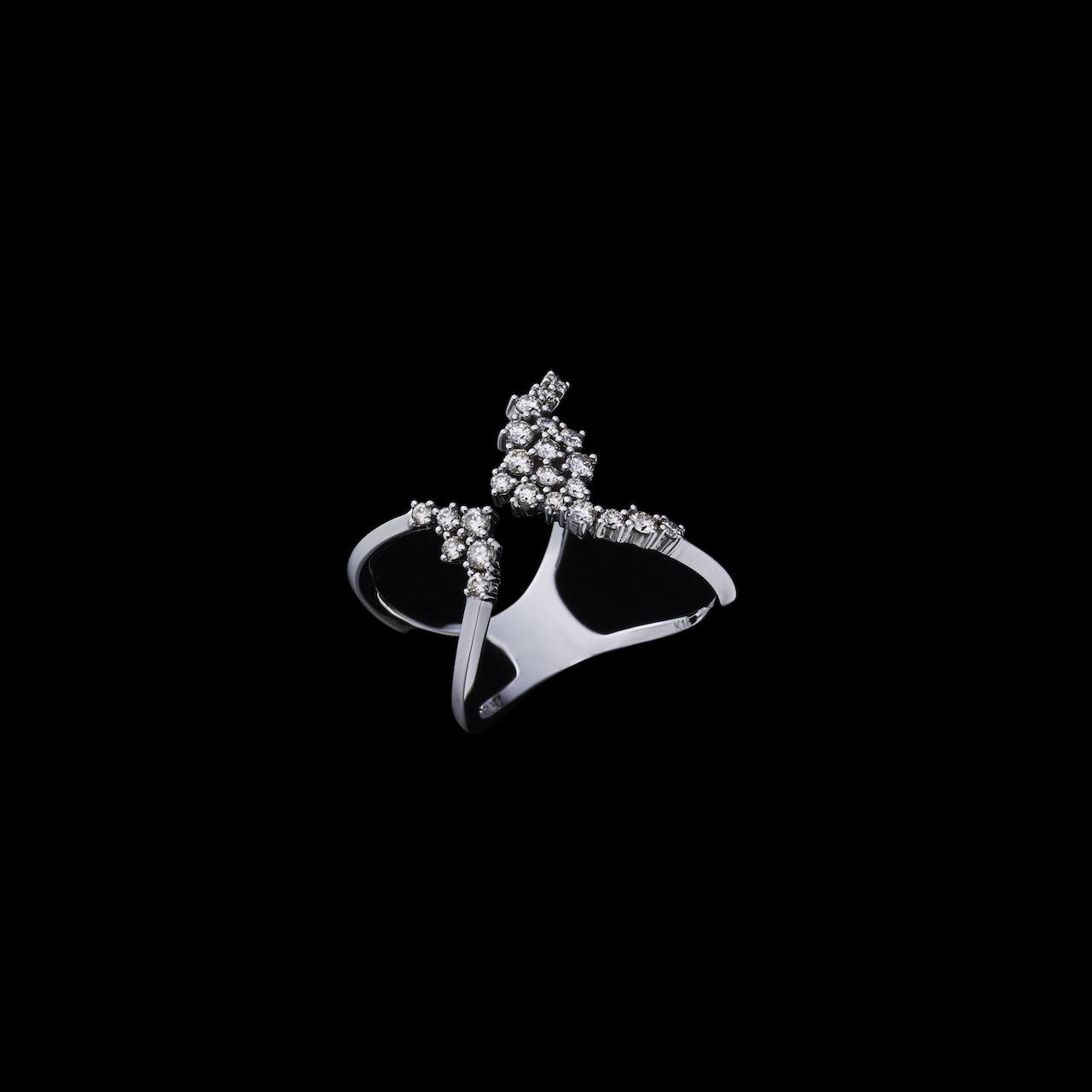 jewelG <Lacy> リング K18/ダイヤモンド