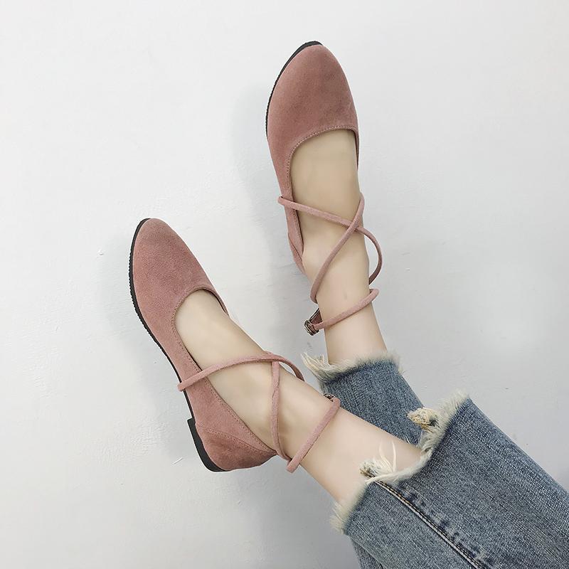 【shoes】カジュアルPU無地パンプス13852398