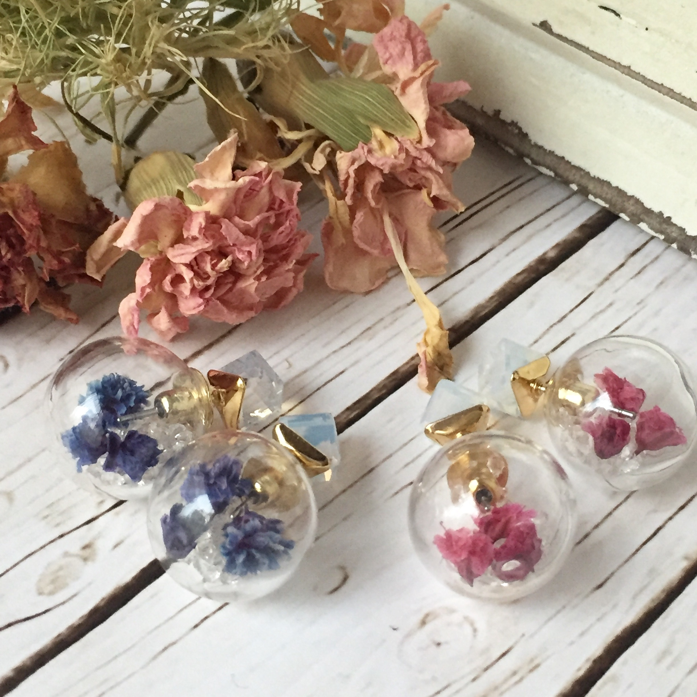 【 Colivey 】Glass dome Earrings