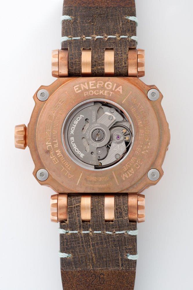 【VOSTOK EUROPE ボストークヨーロッパ】ENERGIA Bronze/エネルギア ブロンズ(ブラウン)/正規輸入品