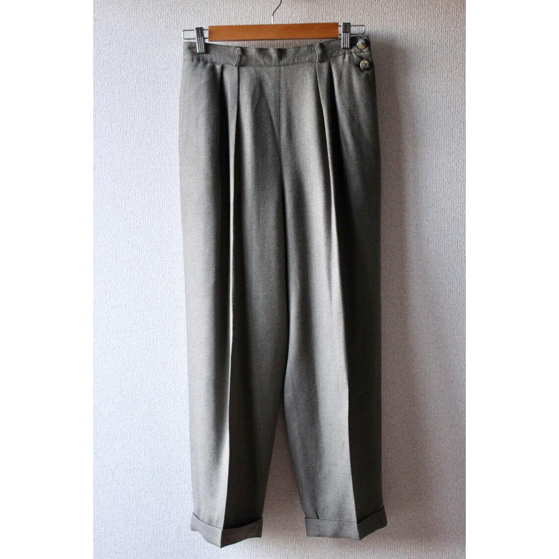Vintage two tuck slacks