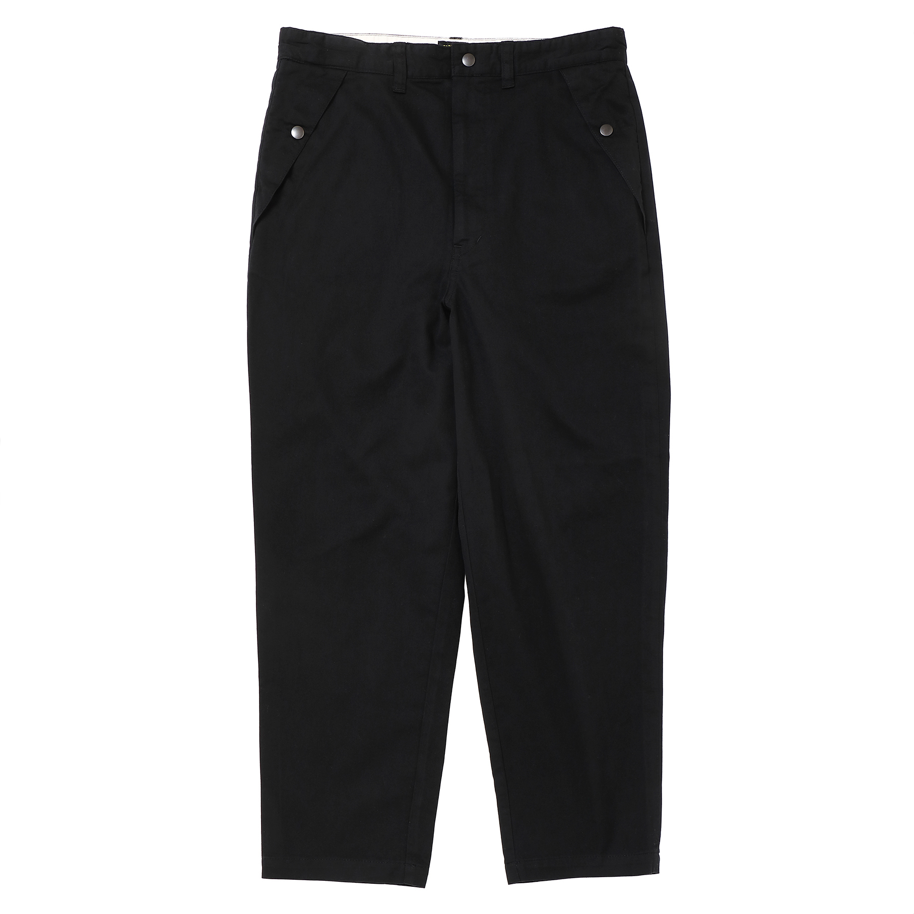 LOOSE FIT CHINO PANTS/BLACK