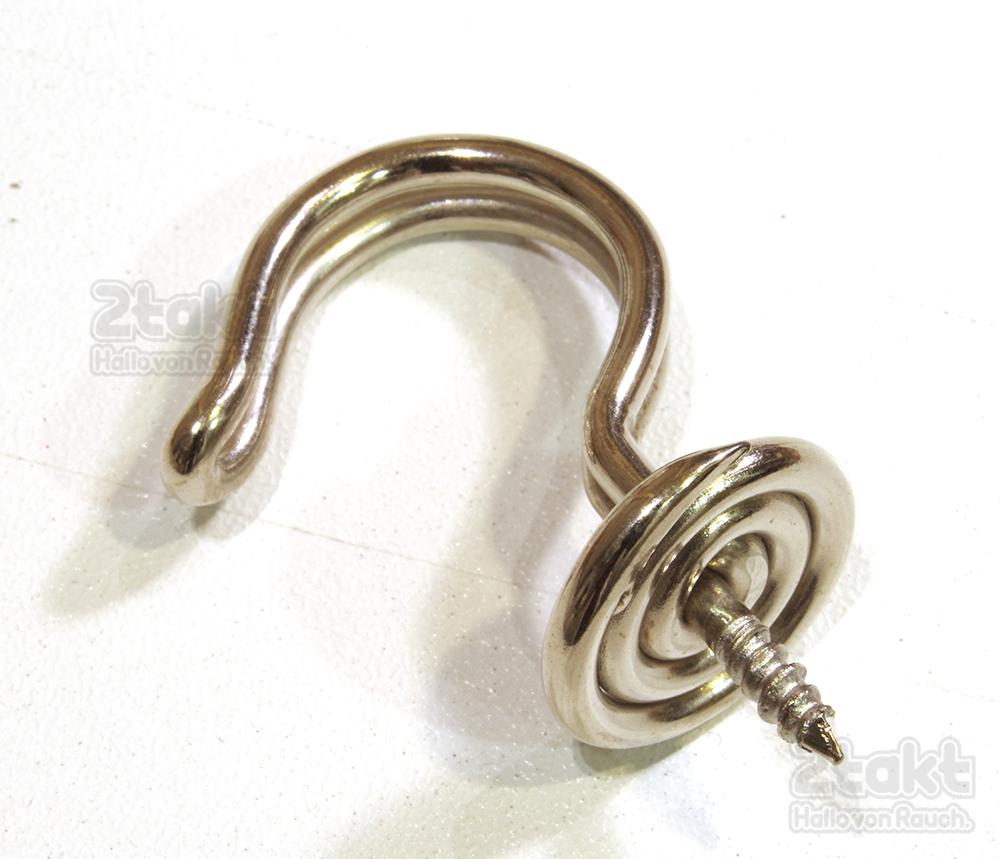 【Vintage品】ドイツ製 デッドストック スチールワイヤーフック /0052