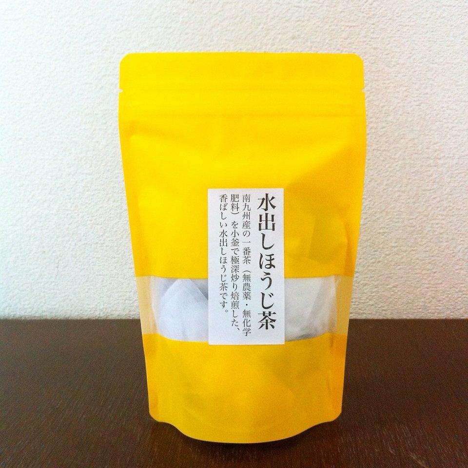 両温タイプ炒り立て香り抜群の「水出しほうじ茶」10g×10個入り