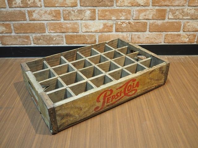 品番0903 ペプシ 赤文字 木箱