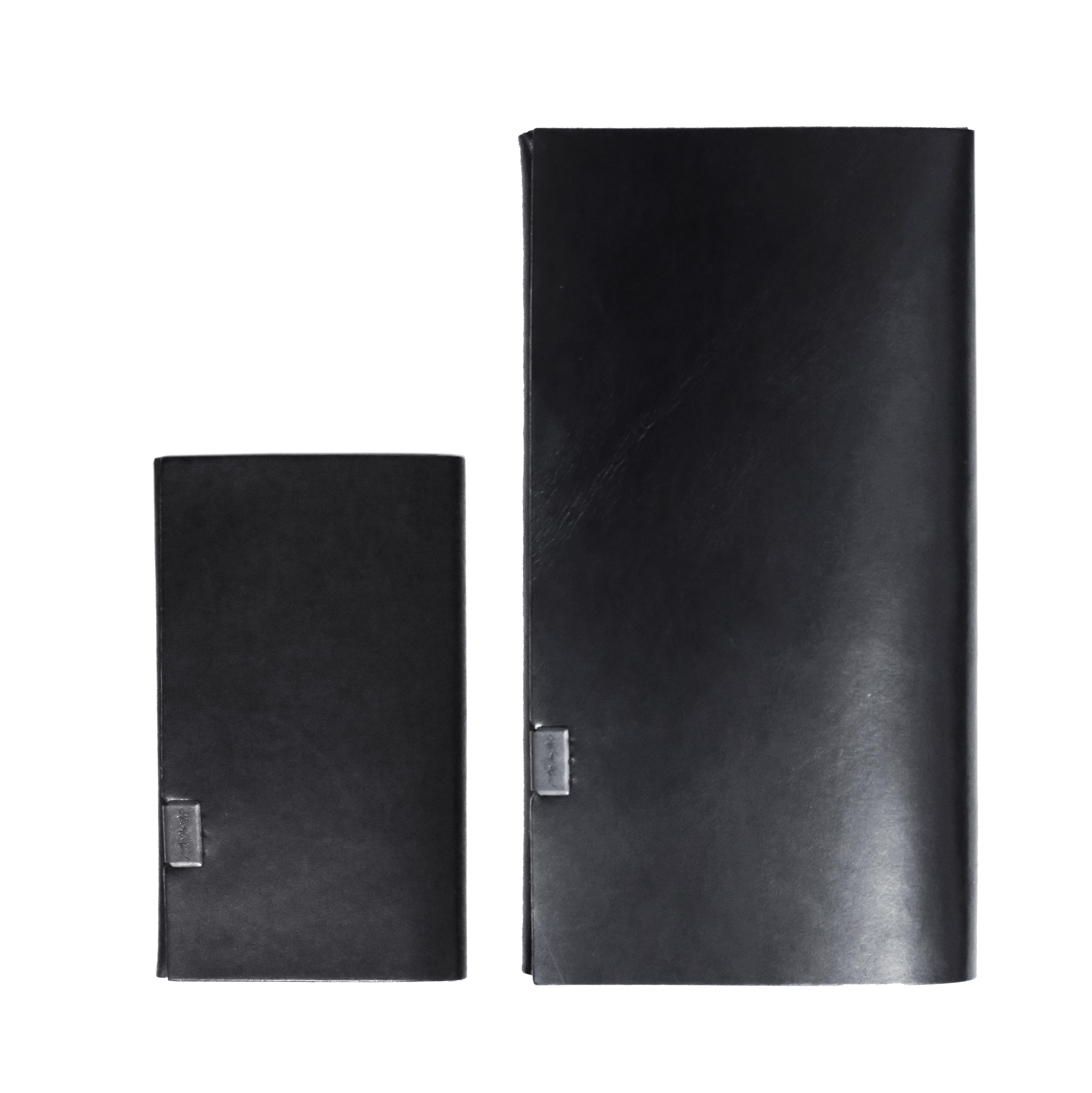 大人の黒 Himeji pit Black  -ロングウォレット&カードケース-