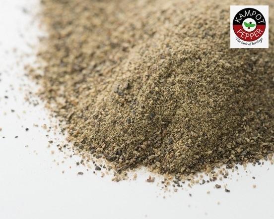 La Plantation カンポットペッパー 黒胡椒(パウダー)50g