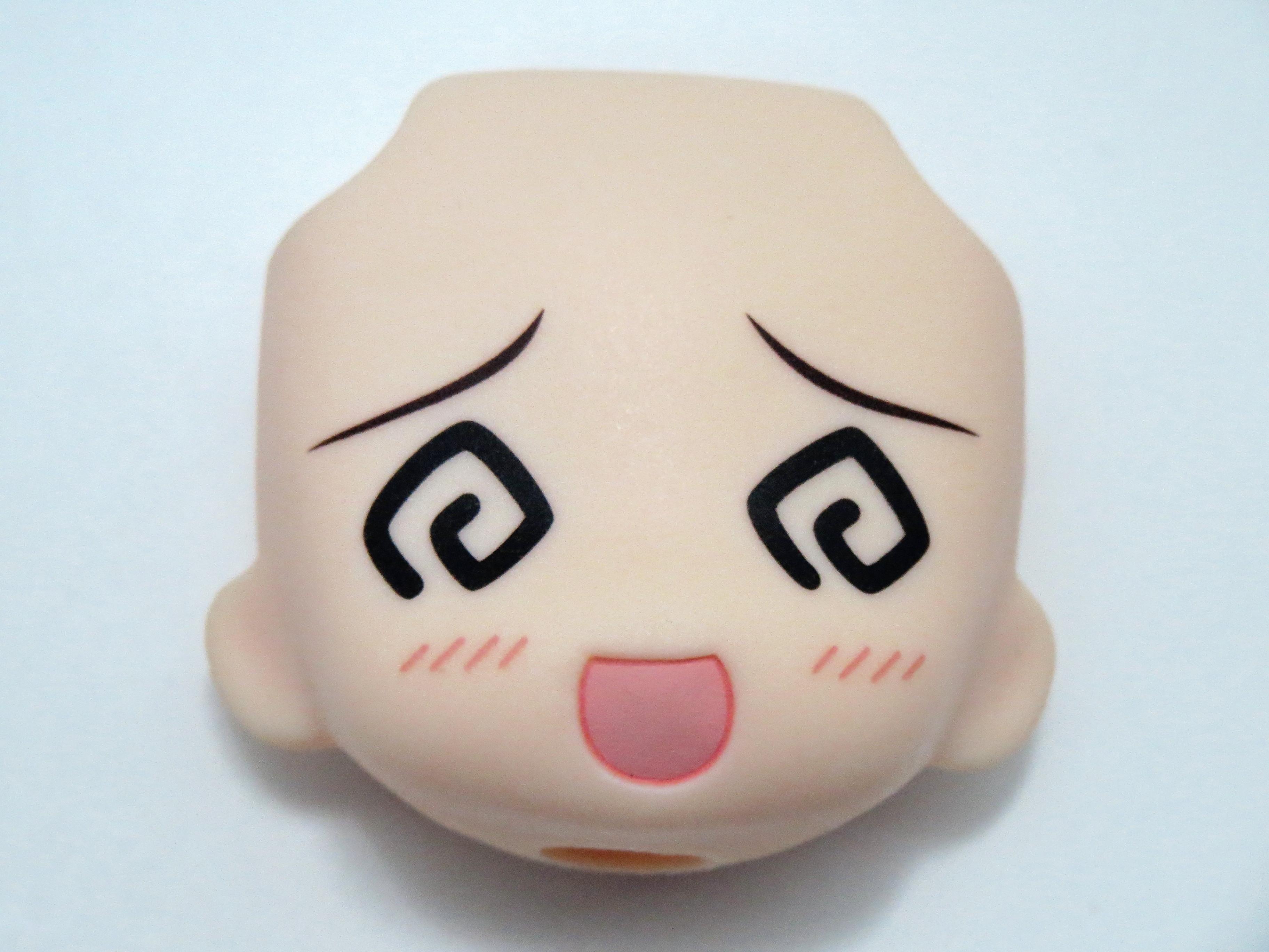 再入荷【187】 MEIKO 顔パーツ ぐるぐる目(B+ランク) ねんどろいど
