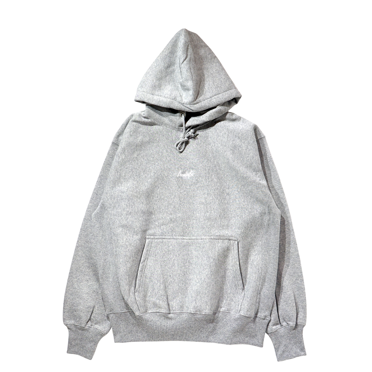 BASIC LOGO 019 pullover <Gray×White> - 画像1