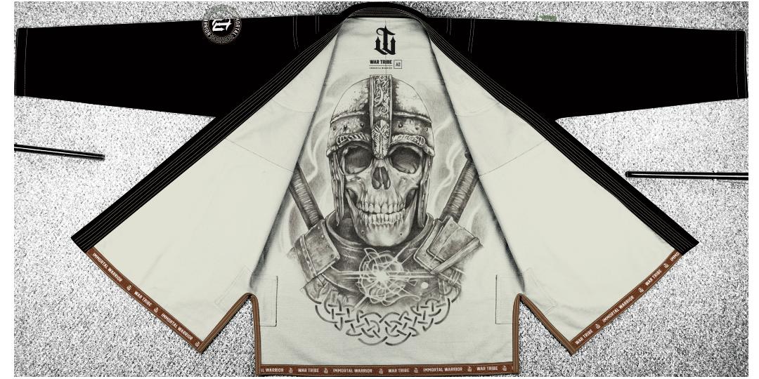 WAR TRIBE IMMORTAL WARRIOR GI ブラック|ブラジリアン柔術衣