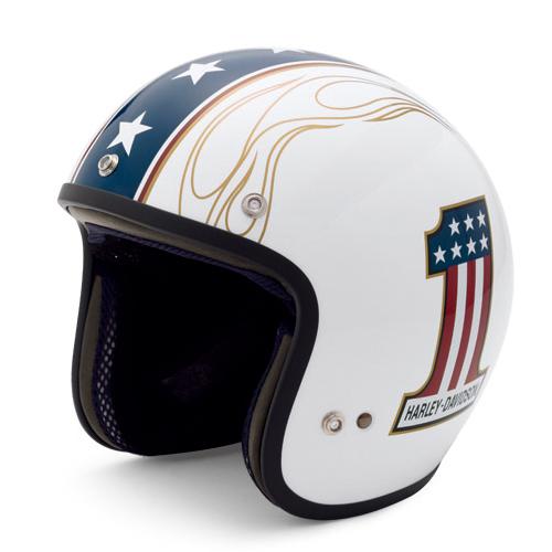 NO.1 LOGO WHITEヘルメット