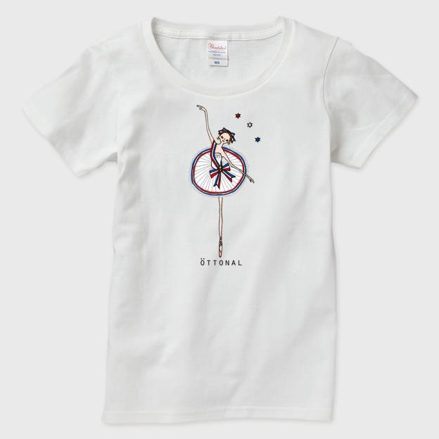パリの炎 Tシャツ(レディース) - 画像3