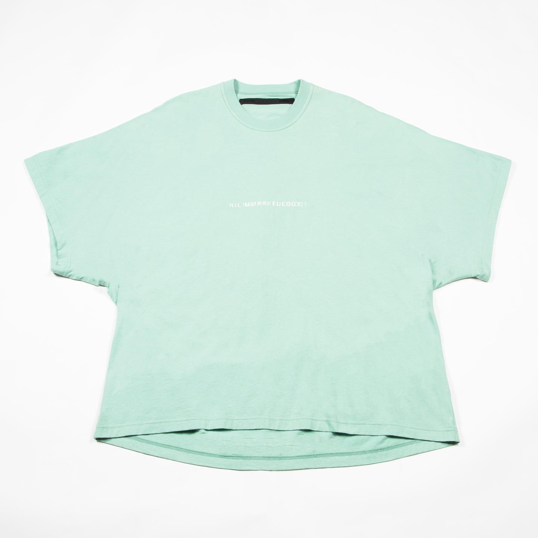 [ 2021 春夏 予約商品 ] 740CPM2-TURQUOISE / NILøS プリント Tシャツ ver.2 / 1月入荷予定