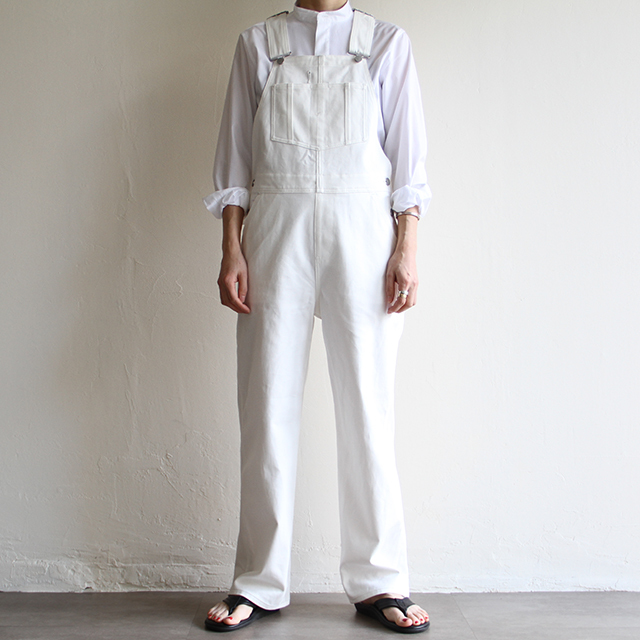 UNION LAUNCH 【 womens 】denim overalls