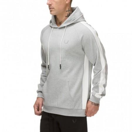 【ASRV】SilverPlus®︎メッシュパネルフーディー - Athletic Grey