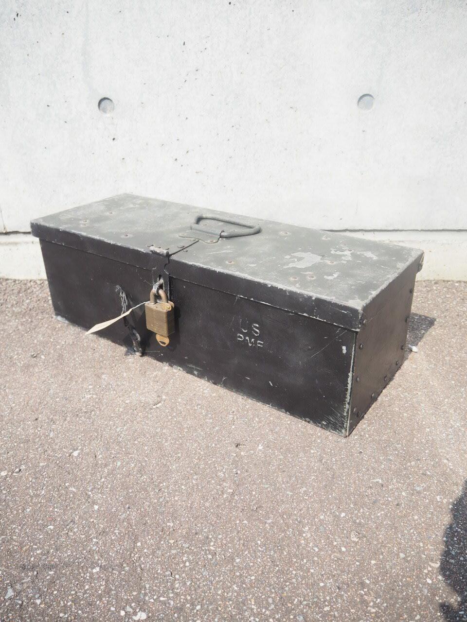 品番0138 ミリタリーボックス小 / Military box
