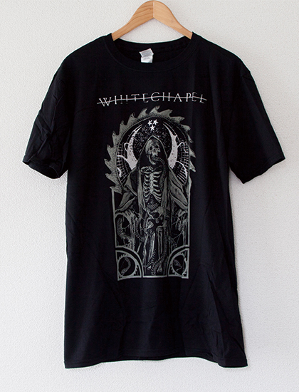 【WHITECHAPEL】Serpent God T-Shirts (Black)