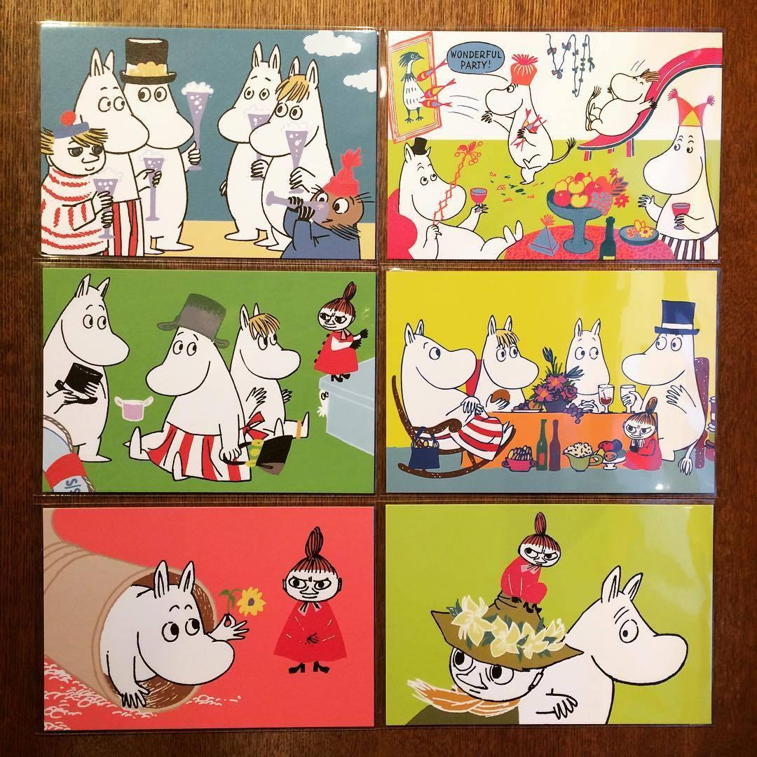 ポストカード「ムーミン Moomin 10枚セット」 - 画像1