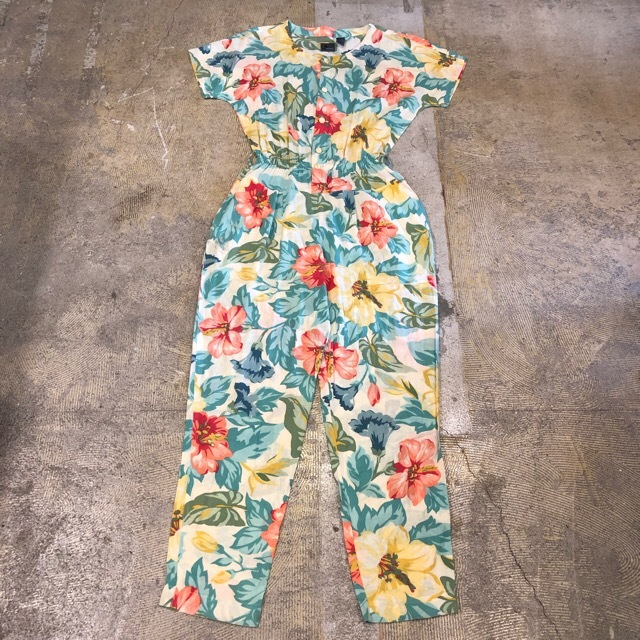 Floral Print Rompers¥7,400+tax