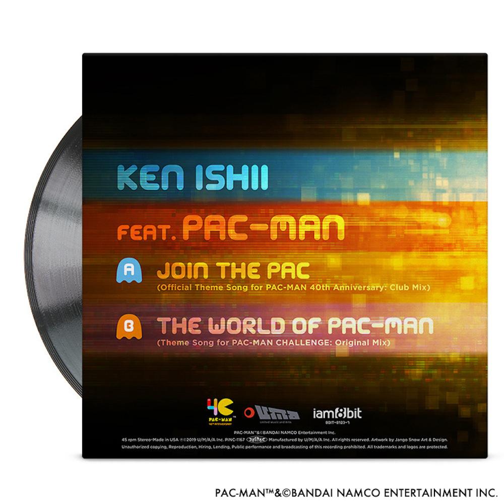 JOIN THE PAC - KEN ISHII FEAT. PAC-MAN【7INCH EP】 / iam8bit