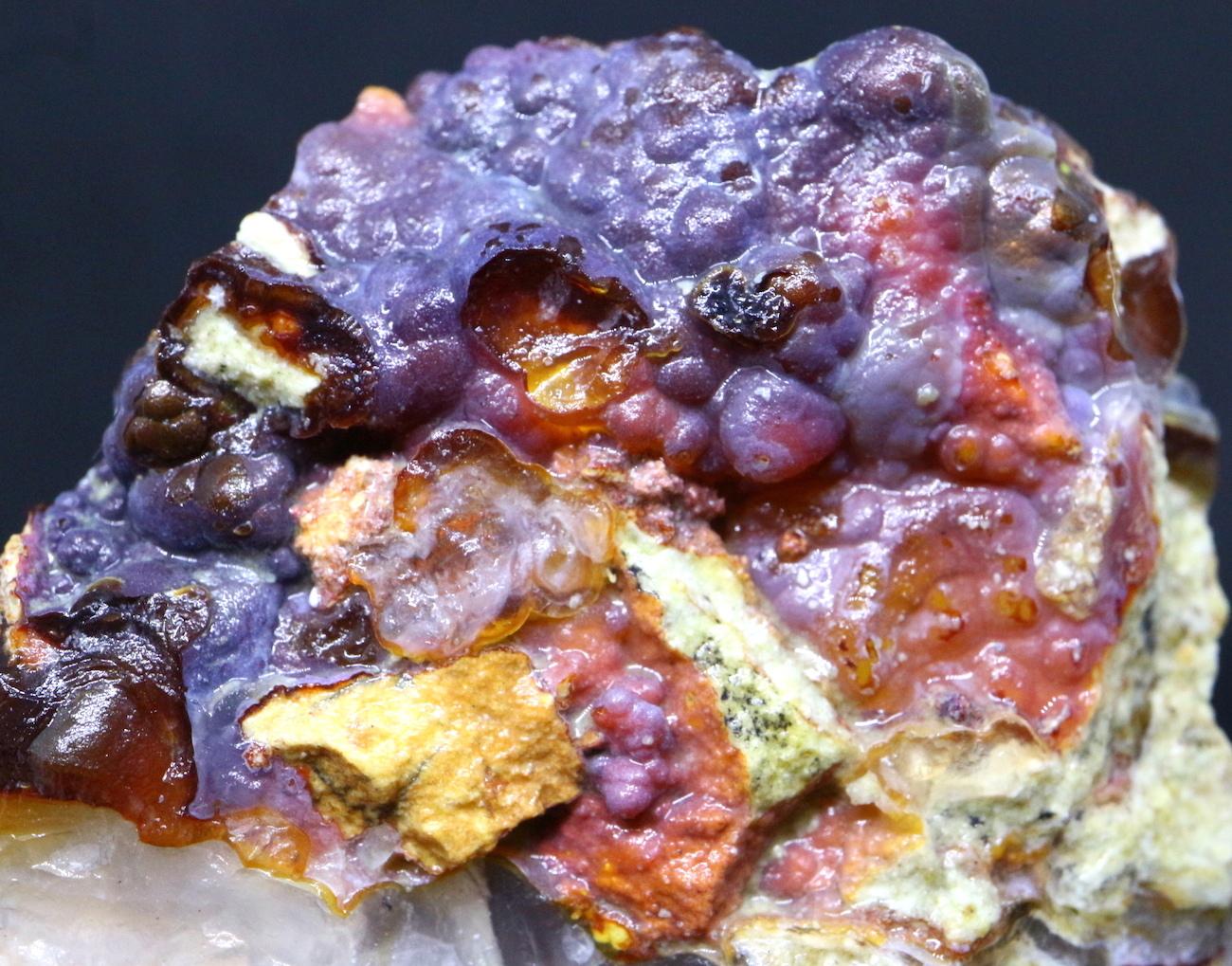ファイヤー アゲート カルセドニー 51,2g FA023 鉱物 原石 天然石 パワーストーン