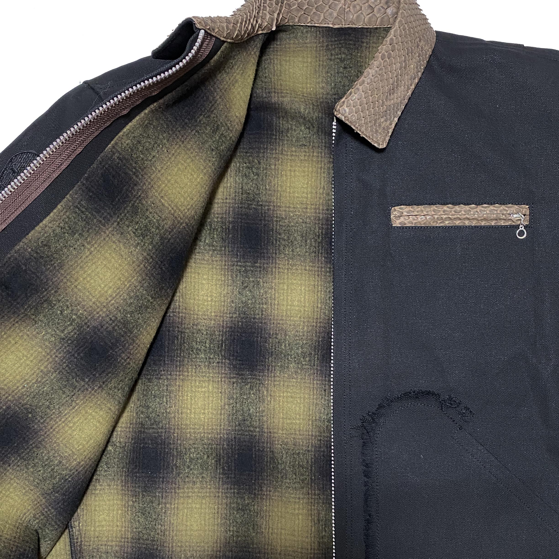 Petroit Work Jacket / Black - 画像5