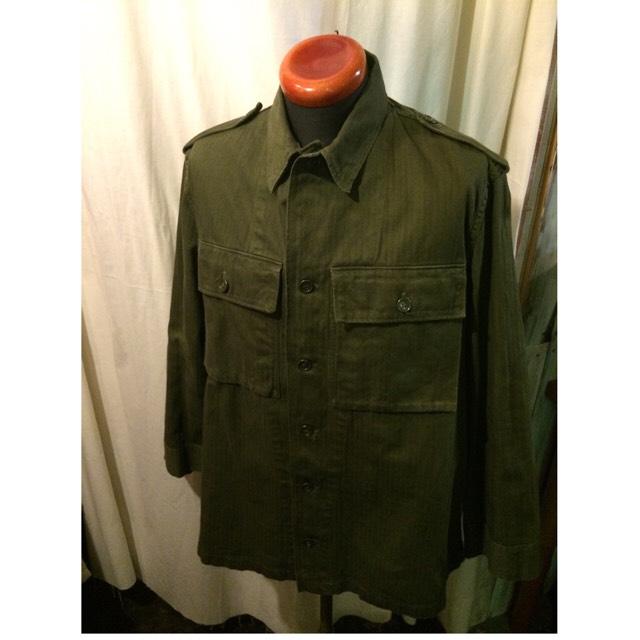1966年製 vintage HBTシャツ ベルギー軍?
