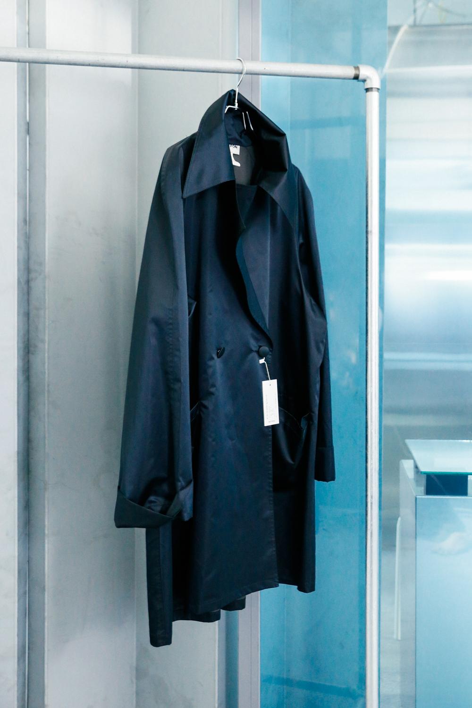 "80-90's ""LILI CREPON"" Big Collar Coat"