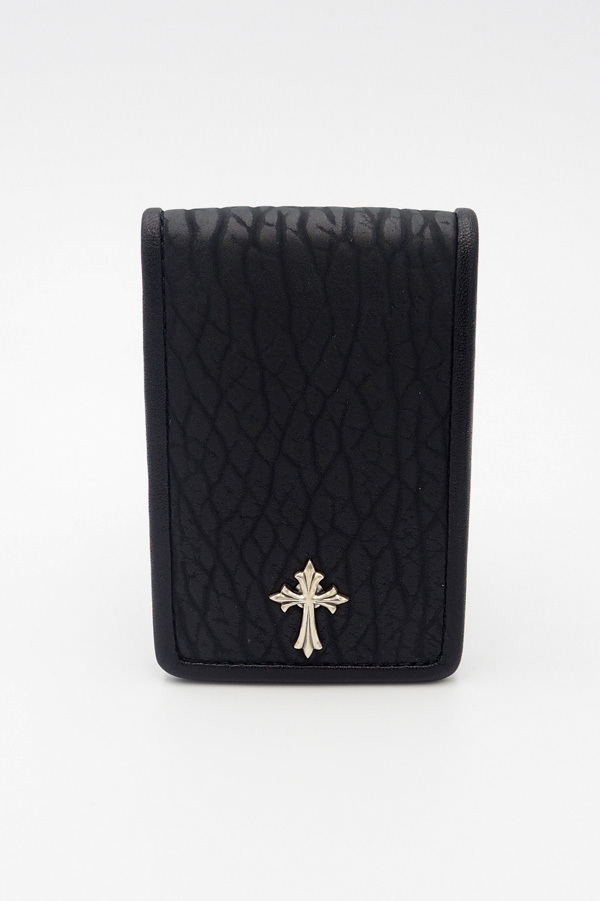 Item No.0294 :Small rich coin case2/Seal《Black》
