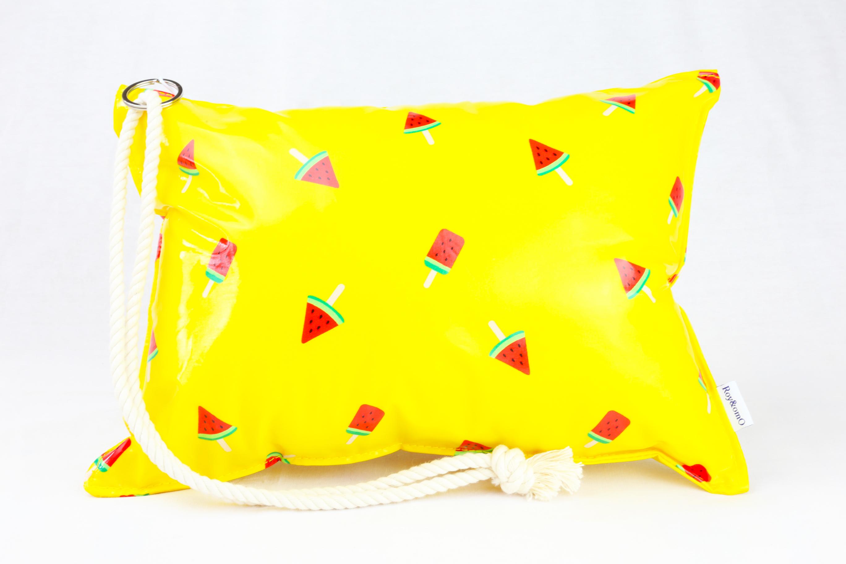 Pillow Bag (plumpillow purse)【Suika Candy】まくら×ポーチ アウトドア