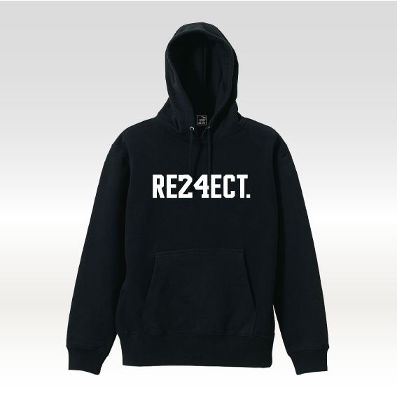 'RE24ECT' フーディー [ 4color ]