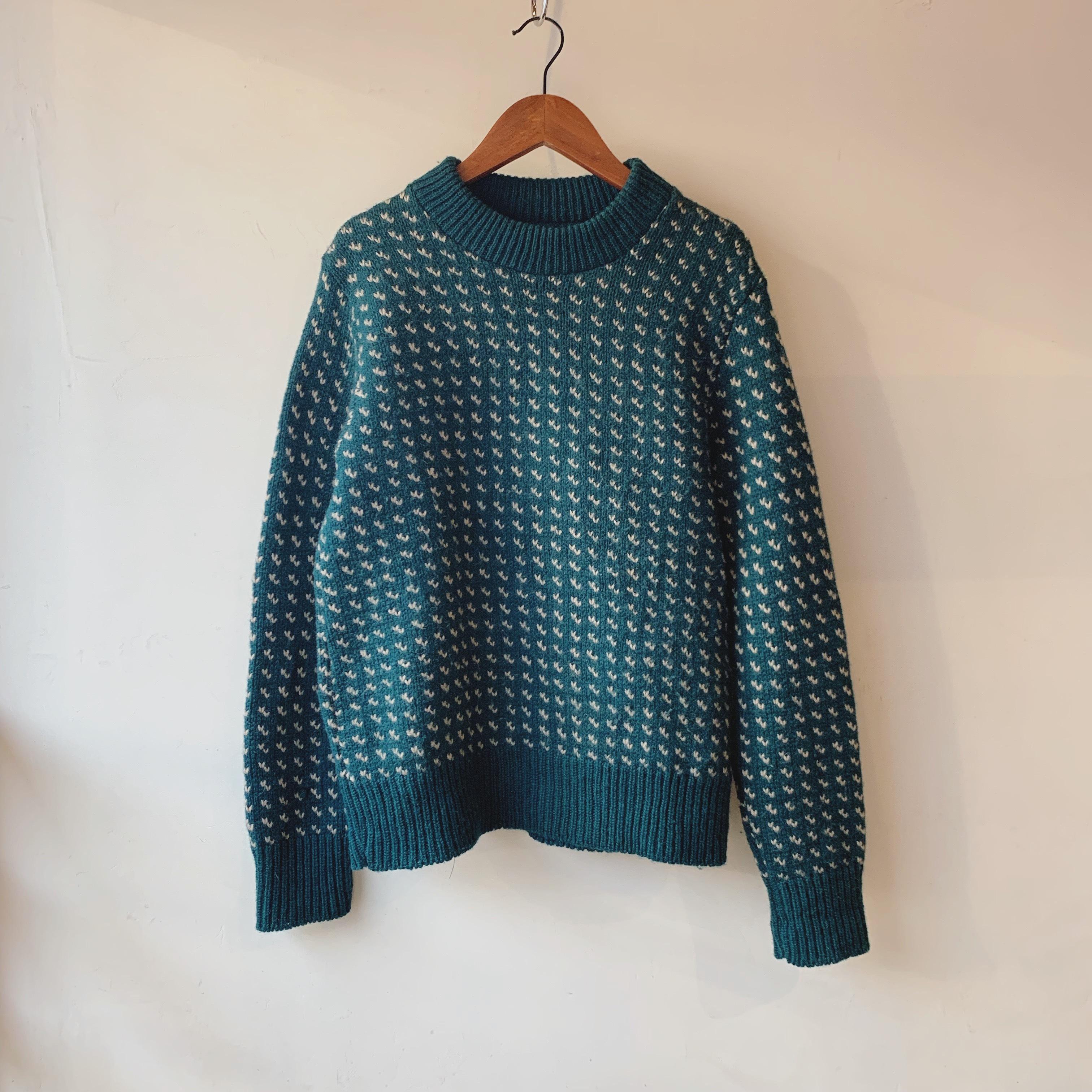 vintage design knit sweater