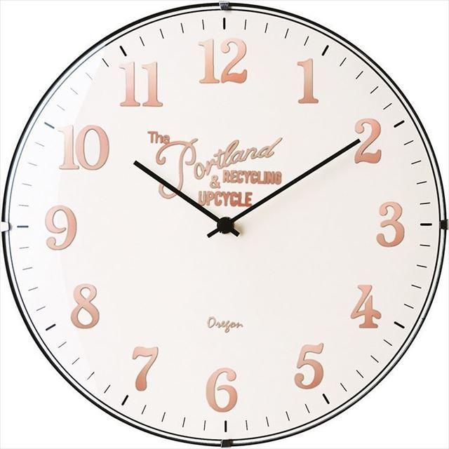 電波時計 レトロ Bouliac ~ブリアック~ CL-1374 インターフォルム - 画像4
