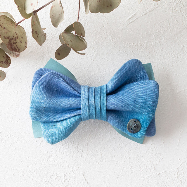 asaCorsage 〈Bow Tie〉Blue