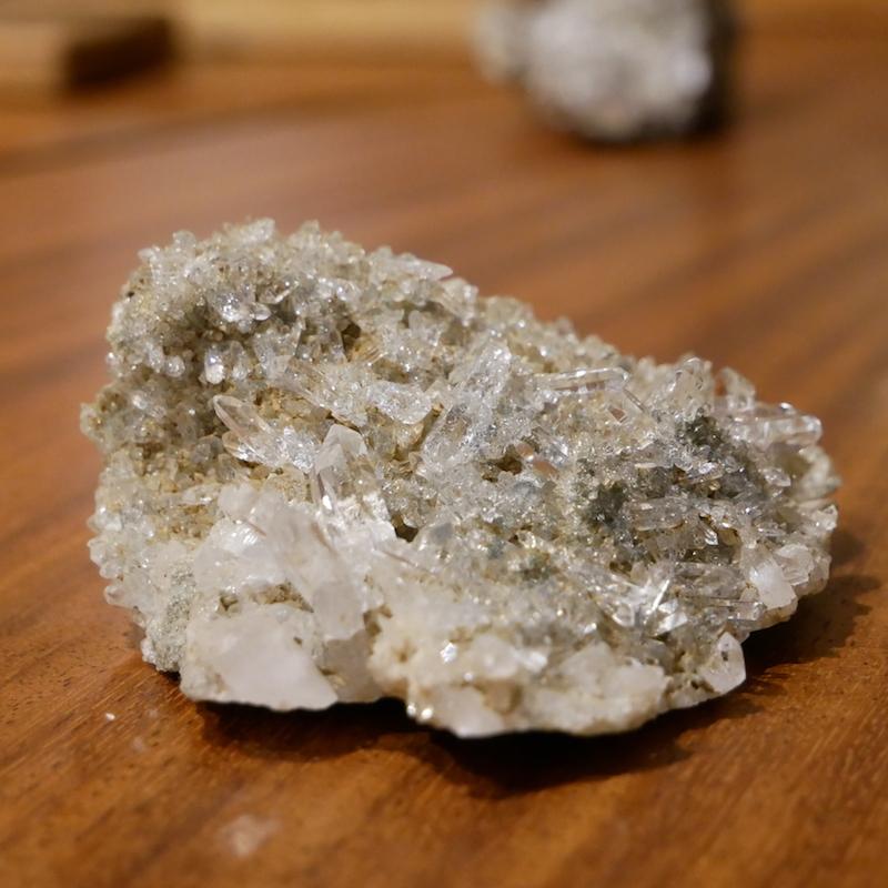 ヒマラヤ マニハール産水晶クラスター 0.23kg
