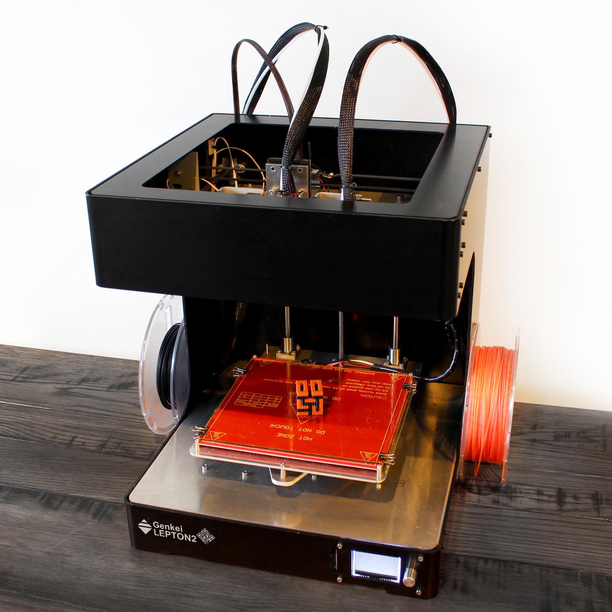 Lepton2 デュアル 3Dプリンター 新ツールスイッチシステム搭載 - 画像4
